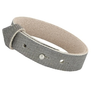 Armband 15 mm Denim grey