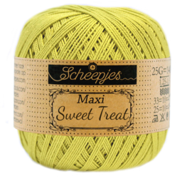 Scheepjes Maxi Sweet Treat 25 gram  - Green Yellow 245