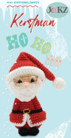 Garenpakket: Jookz Kerstkoukleumpje Kerstman mini