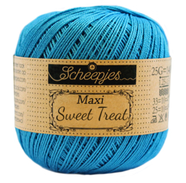 Scheepjes Maxi Sweet Treat  25 gram - Vivid Blue  146