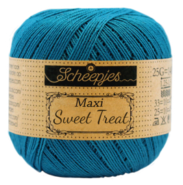 Scheepjes Maxi Sweet Treat  25 gram  - Petrol Blue 400