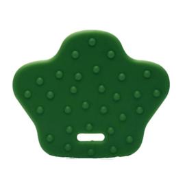 Dierenpoot kunststof  bijtringen - Groen