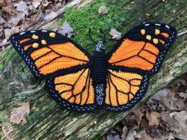 Garenpakket | Miekscreaties Monarch  Vlinder