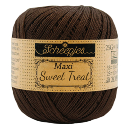 Scheepjes Maxi Sweet Treat  25 gram -  Black Coffee 162