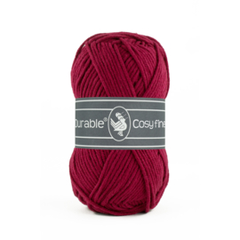 Durable Cosy fine - 222 Bordeaux