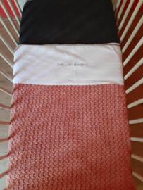 Haakpakket | Ledikant deken Oud Roze  100*150