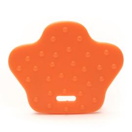 Dierenpoot kunststof  bijtringen - Oranje