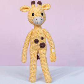 Garenpakket: Giraf speenknuffel