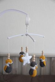 Muziekmobiel pinguins - inclusief mobiel