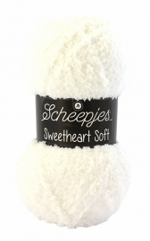 Scheepjes Sweetheart Soft 01 (Off White)