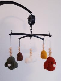 Muziekmobiel vogels en wolk - inclusief mobiel