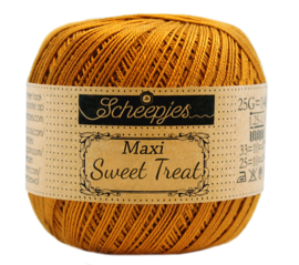 Scheepjes Maxi Sweet Treat  25 gram -  Ginger Gold  383