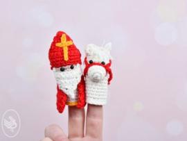 Haakpakket: Sinterklaas en Ozosnel  Vingerpoppetjes