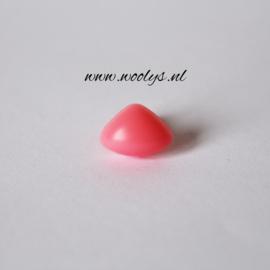 Veiligheidsneus roze driehoek 9 mm