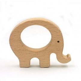 Houten ring olifant