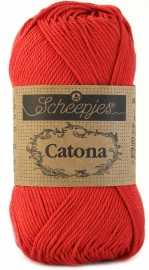 Scheepjes Catona 50 gram - Candy Apple 516