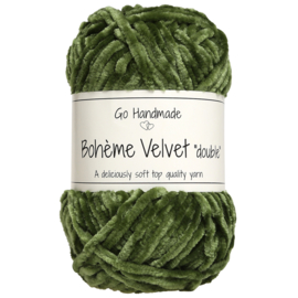 Go Handmade Bohème Velvet Double - Lime