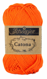 Scheepjes Catona 25 gram - Royal Orange 189