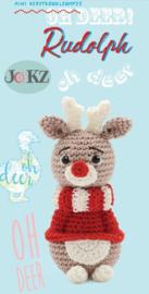 Garenpakket: Jookz Kerstkoukleumpje Rudolph mini