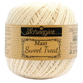 Scheepjes Maxi  Sweet Treat  25 gram -  Old Lace 130