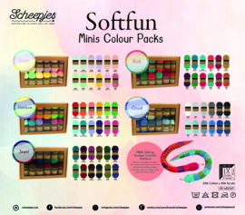Scheepjes Softfun Mini's Colour Packs