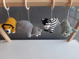 Garenpakket: Jookz Babygym Safari Dieren