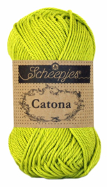 Scheepjes Catona 25 gram - Green Yellow 245