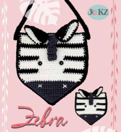 Garenpakket: Jookz vlaggetje of muurhanger Zebra
