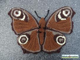 Garenpakket | Miekscreaties Dagpauwoog Vlinder