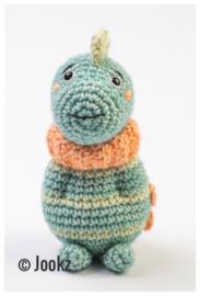 Garenpakket: Jookz Mini Koukleumpje Dino