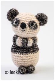 Garenpakket: Jookz Mini Koukleumpje Panda