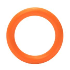 Plastic ringetjes 40 mm Donker Oranje