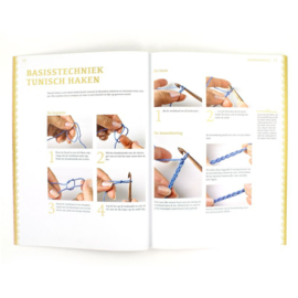 Tunisch haken workshop (boek)