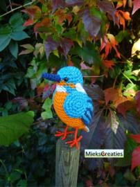 Garenpakket | Miekscreaties IJsvogel