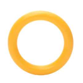 Plastic ringetjes 40 mm Geel