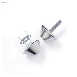 Prym Bodemnagels voor tassen 20 mm Zilver