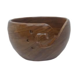 Scheepjes Yarn Bowl - rozenhout