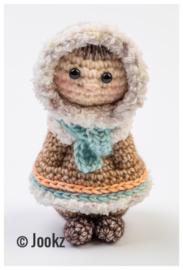Garenpakket: Jookz Mini Koukleumpje Eskimo
