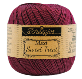 Scheepjes Maxi Sweet Treat 25 gram  - Bordeau  750