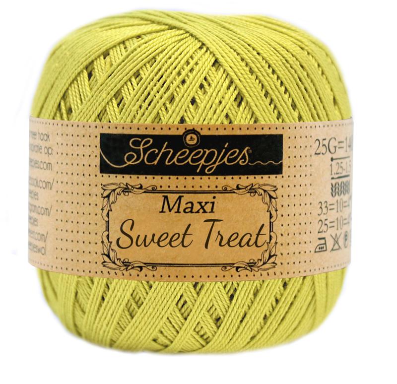 Scheepjes Maxi Sweet Treat 25 gram  - Green Yellow 245