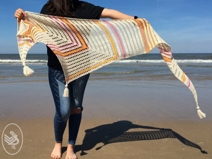 Garenpakket: Durable Meant to be shawl