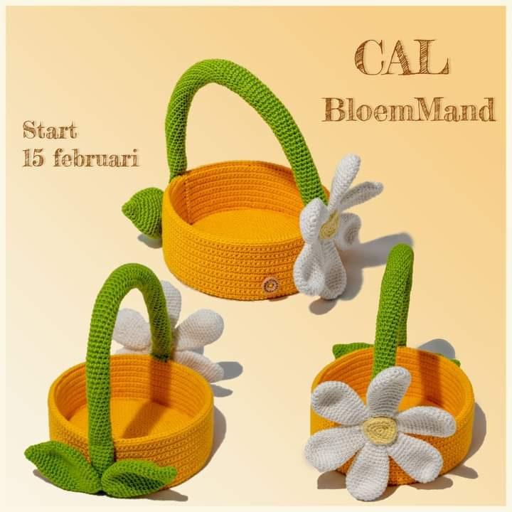 Garenpakket Cal bloemMand + extraatje ?