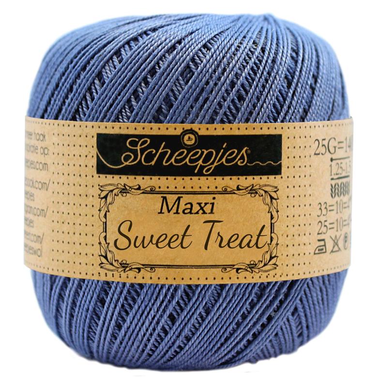 Scheepjes Maxi Sweet Treat 25 gram -  Capri Blue  261