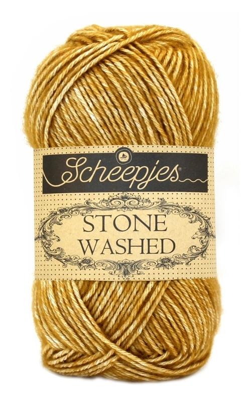 Scheepjeswol Stone Washed Yellow Jasper 809