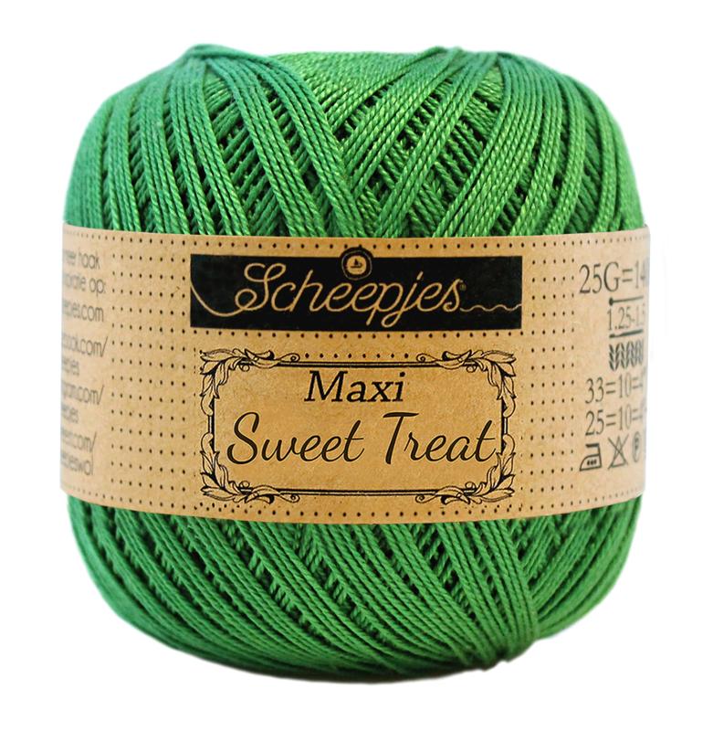 Scheepjes Maxi Sweet Treat 25 gram  - Grass Green  606
