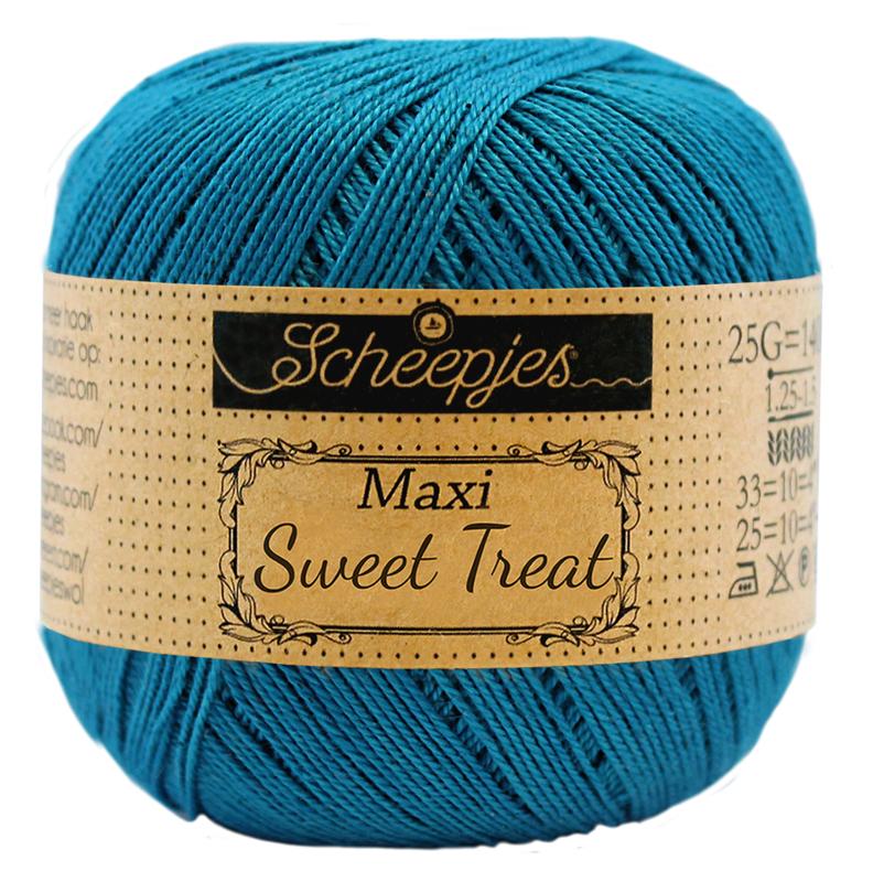 Scheepjes Maxi Sweet Treat  25 gram  - Petrol Blue 400
