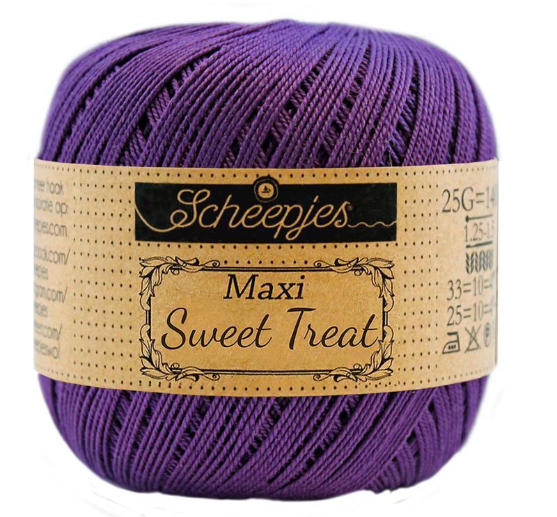 Scheepjes Maxi Sweet Treat  25 gram - Deep Violet 521