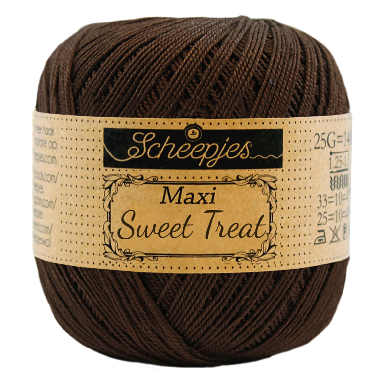 Scheepjes Maxi Sweet Treat  25 gram -  Black Coffee 162