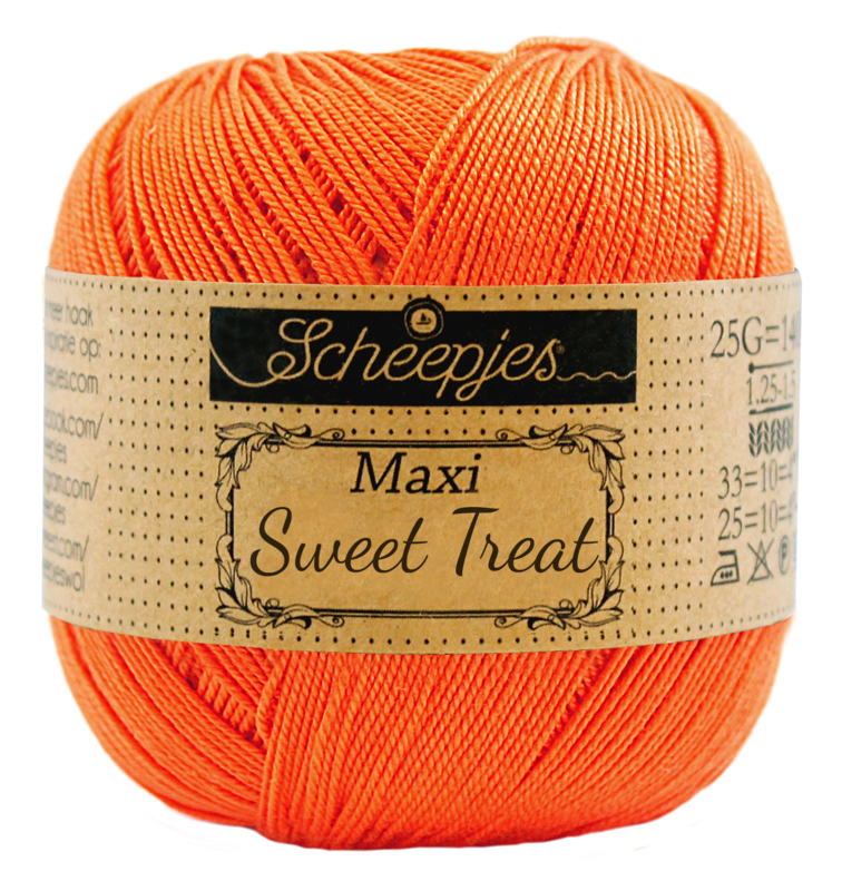 Scheepjes Maxi Sweet Treat 25 gram  - Royal Orange 189