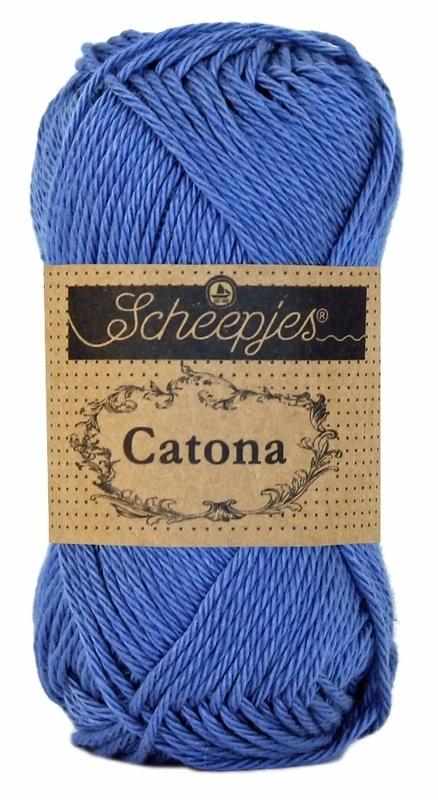 Scheepjes Catona 50 gram - Capri Blue  261